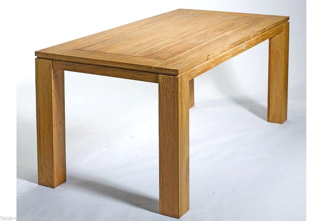 Destiny Teaktisch Dorado XL Tisch 220 x 100 Teakholz Gartentisch ...