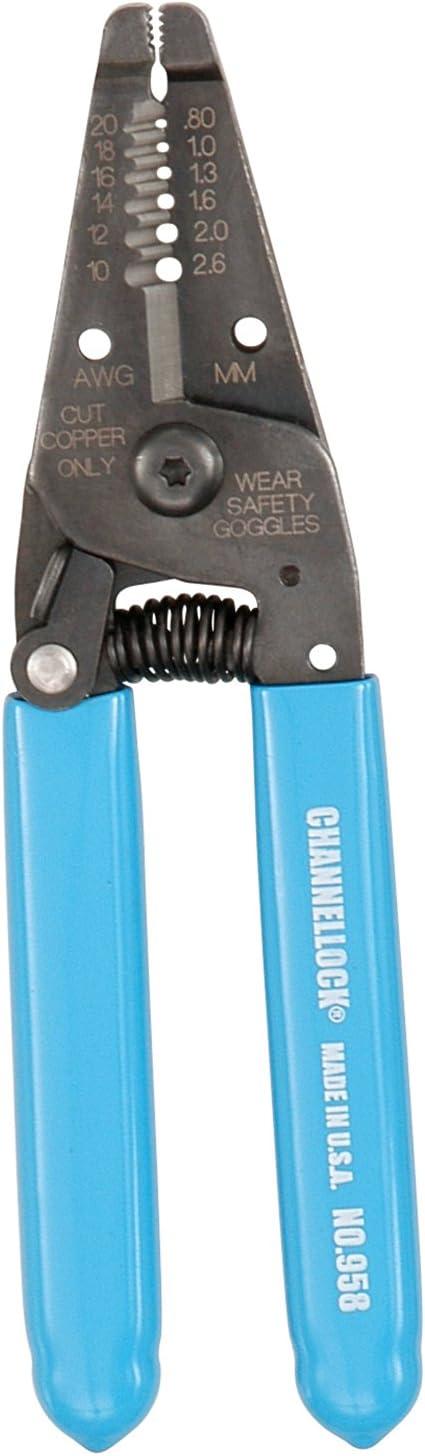 Channellock Wire Cutter Crimper Pliers Cut Crimp Cutting Crimping Tool Stripper