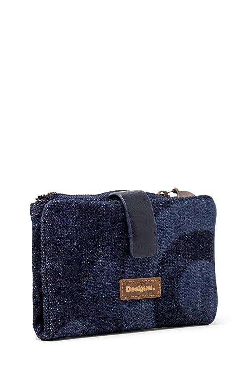 Amazon.com: Desigual Woman wallet mone gravity pia mini ...