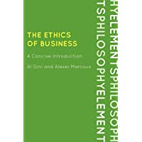 Image for The Ethics of Business: A Concise Introduction (Elements of Philosophy)