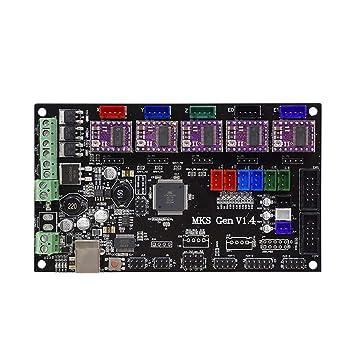 Placa base de la impresora 3d con el Firmware Open Source ...