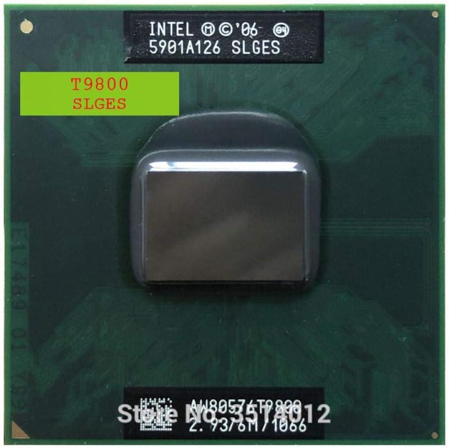 Intel Core 2 Duo T9800 SLGES 2.9 GHz Dual-Core Dual-Thread CPU Processor 6M 35W Socket P