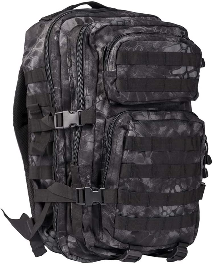 Mil-Tec MOLLE Tactical Pack Mandra Night, Large