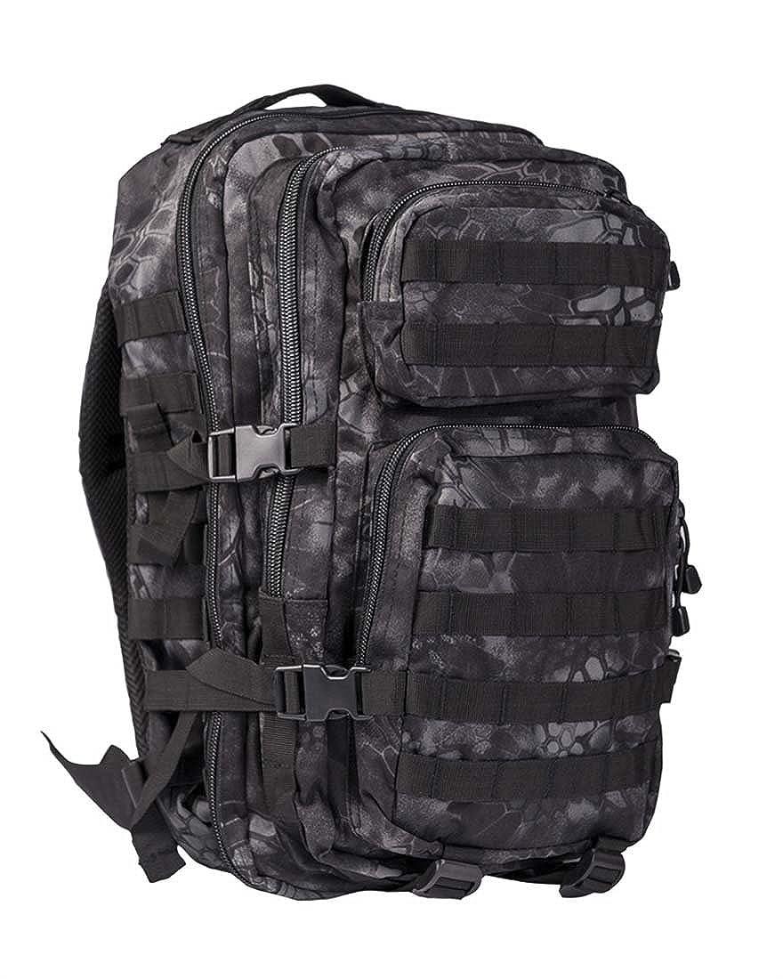 Mandra Night Camo Large MilTec  US Assault Pack Large (Rucksack), ca. 36L Bagpack Military Outdoor Schule