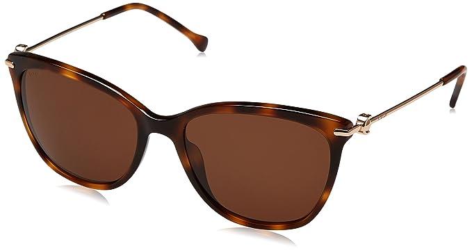 Loewe SLW935M5609AJ Gafas de sol, Shiny Brown Havana, 56 ...
