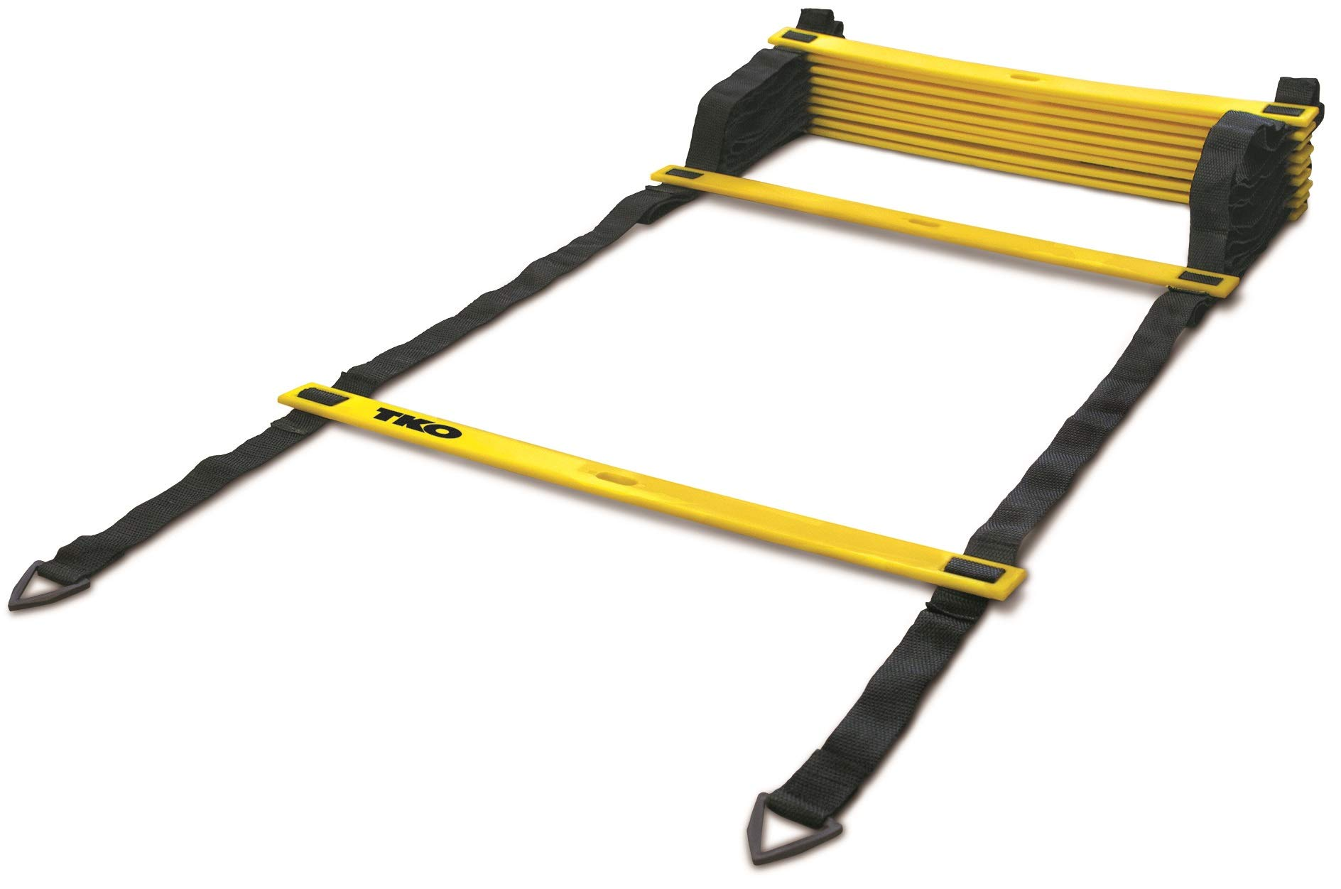 TKO Speed Ladder Step Training to Improve Agility and Coordination - Includes Ground Stakes and Carrying Bag