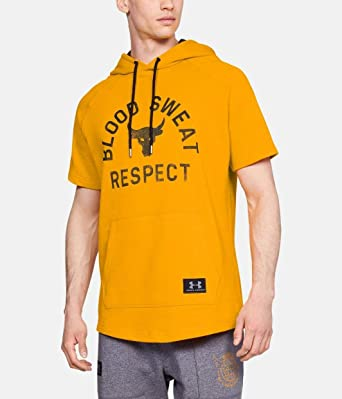 NEW Under Armour UA Project Rock Respect Fitness Hoodie Sz S M L XL $60