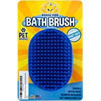Bodhi Dog New Grooming Pet Shampoo Brush | Soothing Massage Rubber Bristles Curry Comb…