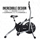 Reach Air Bike Exercise Home Gym Cycle with 5 Variants (Moving Handles/Stationary Handles/Twister/Back Support Seat/Normal Seat) Best Cardio Fitness Machine for Weight Loss.