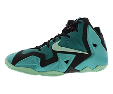 the best attitude 4af76 334be Nike Lebron XI (GS) Kid Shoes Sport Turquoise Black Medium Mint 621712