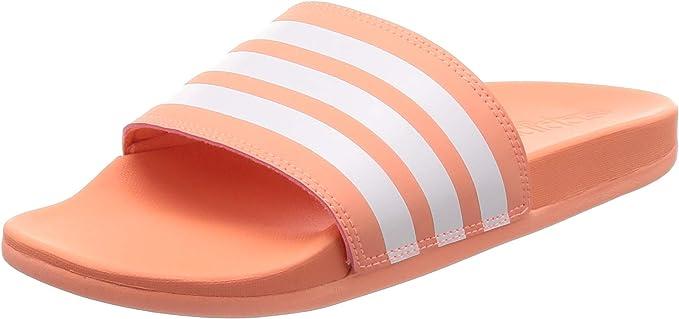 adidas Claquette Femme Adilette Cloudfoam Plus Stripes