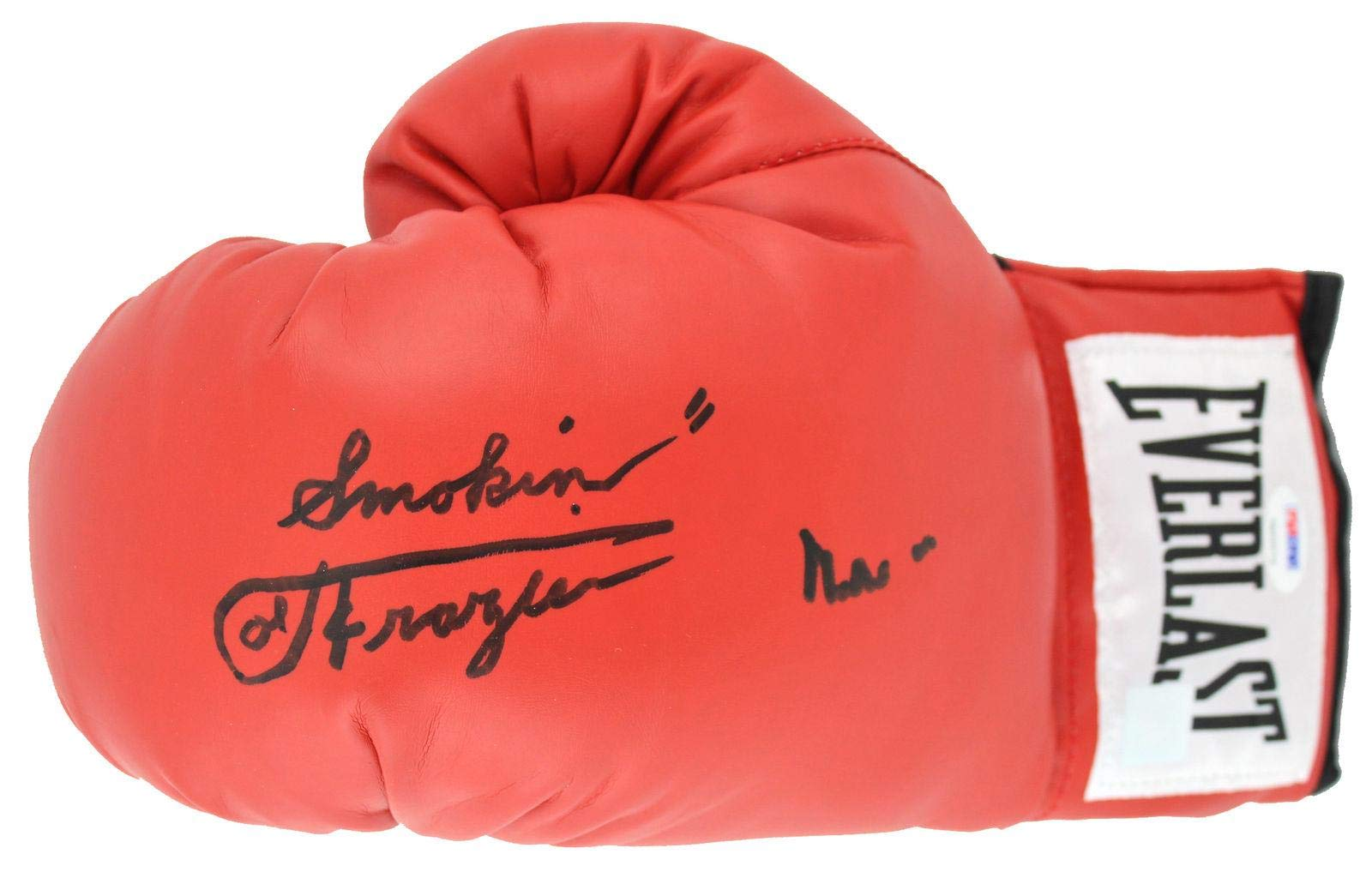 """Muhammad Ali &""""Smokin"""" Joe Frazier Signed Boxing Glove #7A02074 PSA/DNA Certified Autographed Boxing Gloves"""