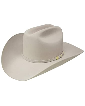 e87f64b9 Stetson Men's El Presidente Premier Felt Hat at Amazon Men's ...