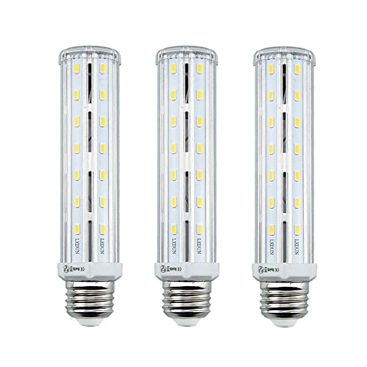 LuxVista 3-packs 15W E27 Super Brillante LED Bombilla de Luz Fría 6000K Luz de