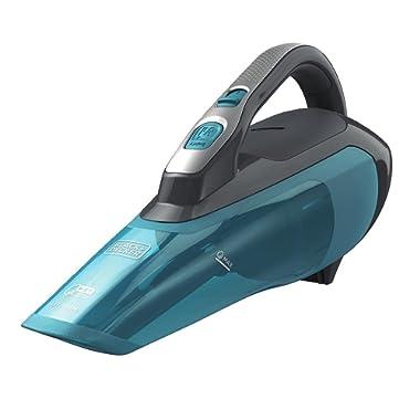 BLACK+DECKER HLWVA325J21 Lithium Wet/Dry Hand Vacuum, 8 oz. , Titanium