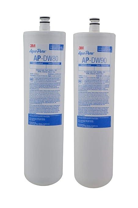 .com: 3m aqua-pure under sink replacement water filter – model ...