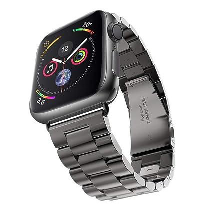 Zubehör Clever Elegantes Armband Für Apple Watch 38mm Edelstahlarmband Gliederarmband Rosègold Uhren & Schmuck