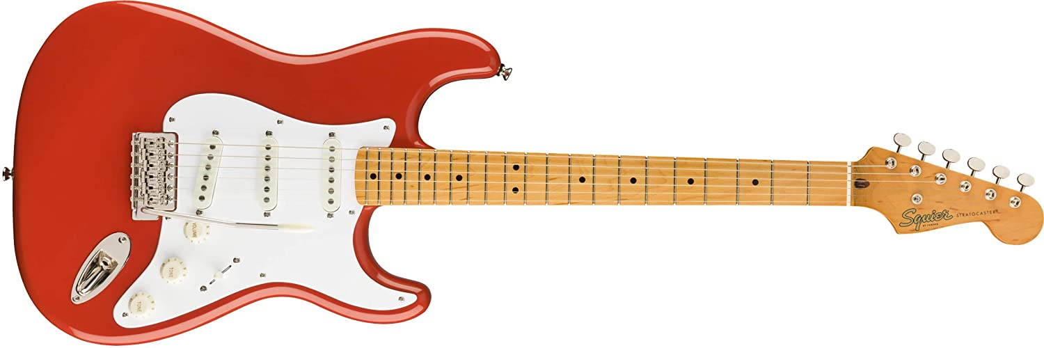 Fender Squier Classic Vibe 50s Stratocaster MN Fiesta Red. Guitarra Eléctrica