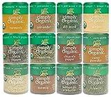 Simply Organic Starter Spice Set Ultimate Add-On