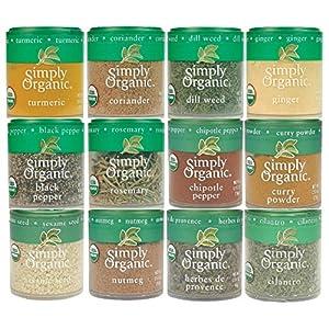 Simply Organic Starter Spice Set Ultimate Add-On 61KKUsZU 2BzL