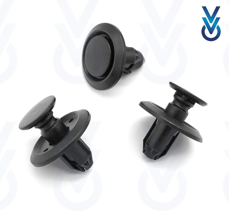 7401HV 10x VVO® Citroen Front Wheel Arch Lining /& Splashguard Clips