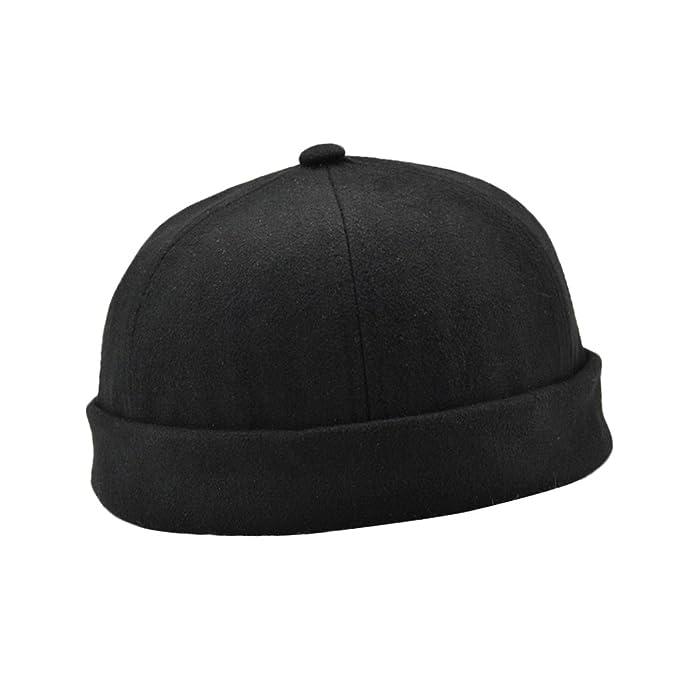 Men Hat Women Casual Hat Beanie Sailor Fisherman Cuff Brimless Cap Fashion