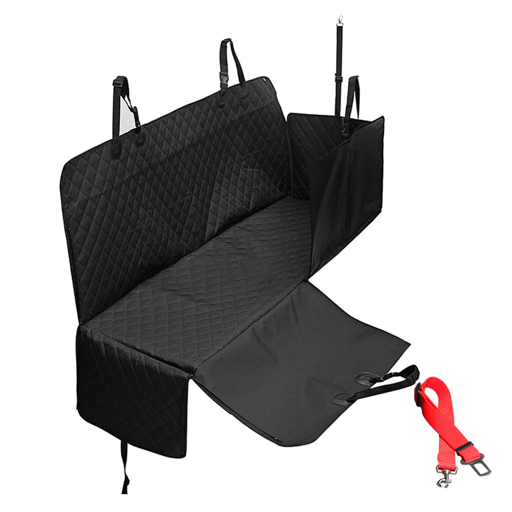 Black GAIBO Pet Seat Covers for Cars, Dog Back Seat Cover PredectorNonslip Easy to Clean Washable, for Cars Trucks SUV,black