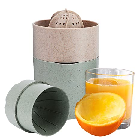 Vanghon Exprimidor de mano de naranja, manual de limón, exprimidor de lima