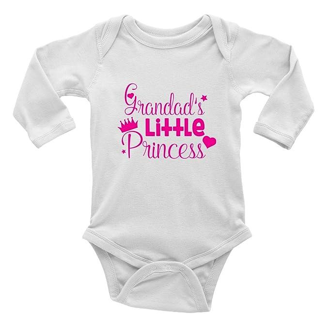 Shopagift Nanas Little Princess Pink Cute Baby Sleepsuit Romper