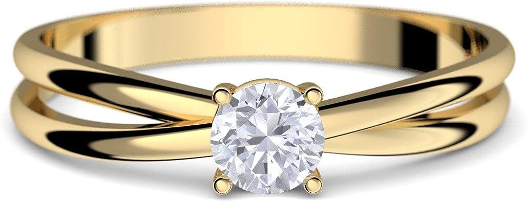 Goldring Verlobungsringe Gold 333 GRATIS LUXUSETUI Goldring