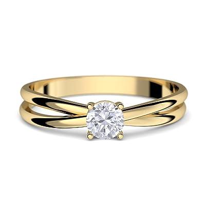 Etwas Neues genug Goldring Verlobungsringe Gold 333 GRATIS LUXUSETUI Goldring 333er #RY_41