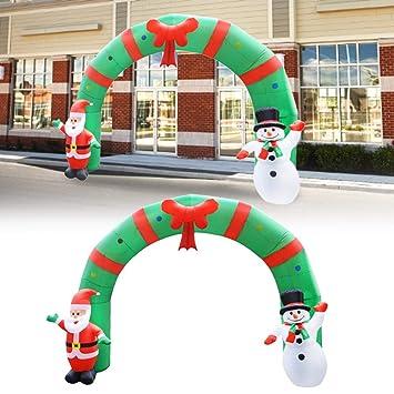 Arco De Navidad Hinchable Navidad Inflable Decoracion, 250 Cm X ...