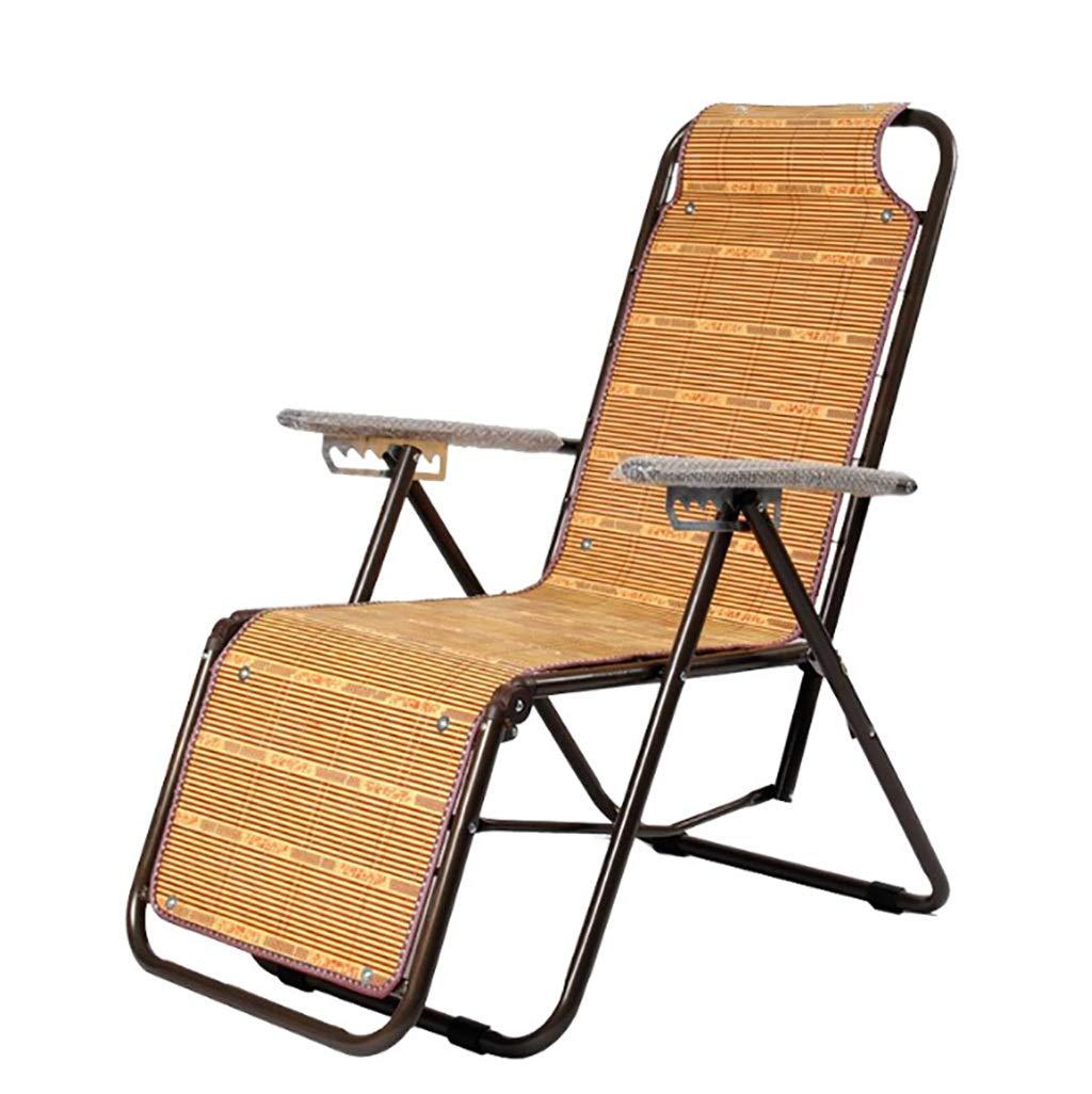 LLRDIAN Liegestuhl klappstuhl Balkon Stuhl büro Mittagessen tragbarer Outdoor-freizeitstrandstuhl