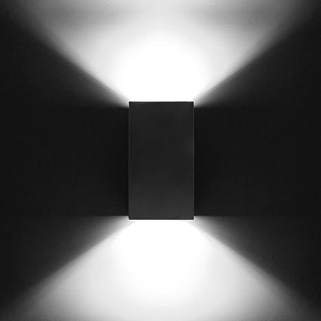 Amazon.com: nclon creativo candelabro de pared Simple de LED ...