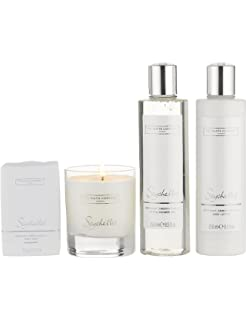 The white company gift set flowers bath shower gel 250ml body the white company seychelles luxury set mightylinksfo