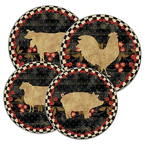 - Range Kleen 5089, Farm to Table Burner Kovers, Set of 4