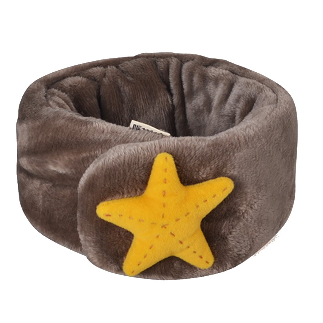 Monique Kids Cute Plush Scarf Collar Boys Girls Autumn Winter Thick Warm Scarves Wraps Mufflers Starfish