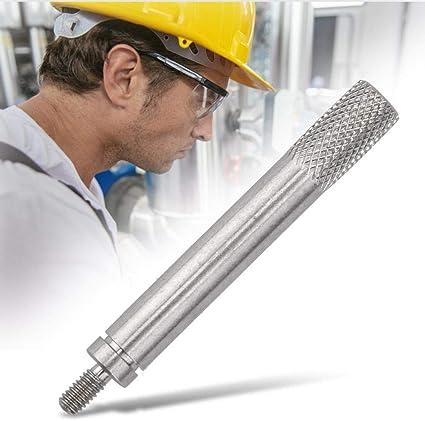 100mm Molette de jauge pour indicateur Potence de rallonge pour diam/ètre 5mm Liukouu Filetage 2.5mm L65 70//80//90 L80mm