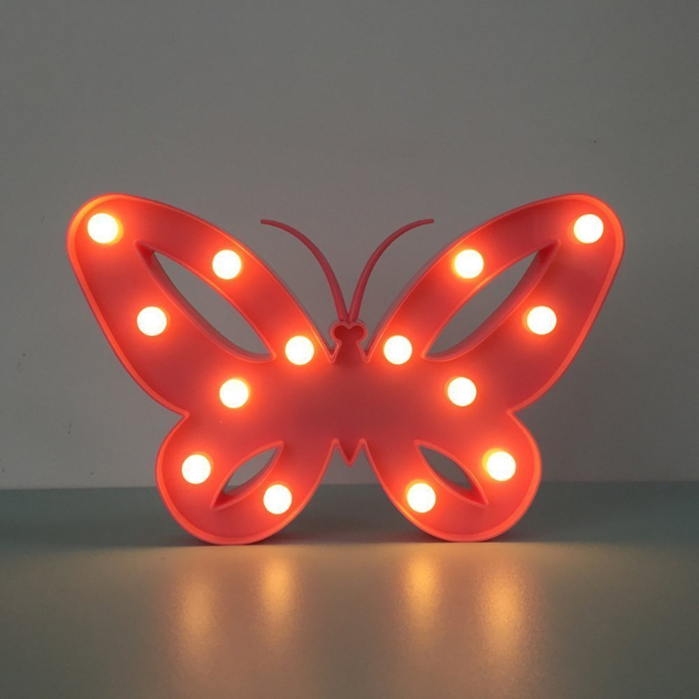 レッドフラミンゴ装飾LEDライト、amzstar Valentine Romance Atmosphereライト、パーティーウェディング誕生日パーティー装飾Kids ' Room電池式LED夜間ライト レッド AMZSTAR B06XCNQSKS 12575 フラミンゴ フラミンゴ