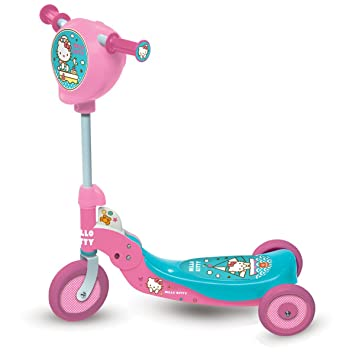Hello Kitty - Patinete, 3 Ruedas Plegable (Mondo 18012)