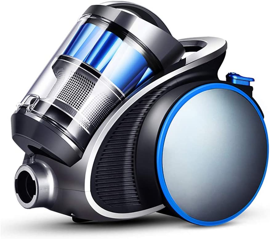 Aspiradoras de trineo Aspiradora, aspiradora sin bolsa (succión fuerte, 1100 W, 5 sistemas de filtración pesada), seguro contra alergias, capacidad de polvo de 1.1L - azul aspiradoras de cilindro: Amazon.es: Hogar