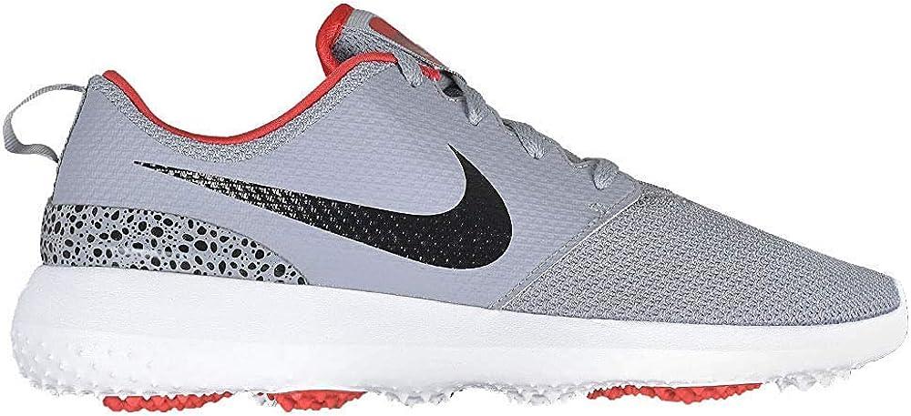 Nike Golf Roshe G Cement Grey/Black/White/University Red 8
