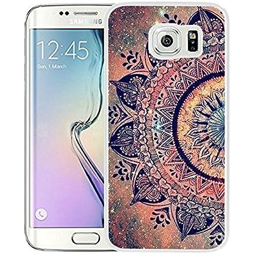 Galaxy S7 Edge Case Samsung Galaxy S7 Edge Case Dseason TPU Non-Slip High Definition Printing Shiny Star flowers Sales