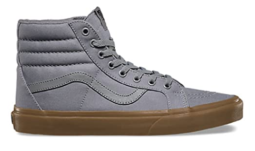 VANS SK8-Hi Reissue Frost Grey/Light Gum Canvas Sneakers VN0AXSBLWX Men  Shoes (