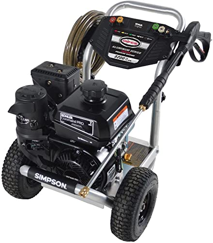 SIMPSON Cleaning ALK3228 Aluminum Gas Pressure Washer Powered