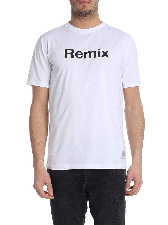 DEPARTHommesT FIVE Luxury mode Homme U18TR2J1801001 Blanc T-Shirt   Printemps été 19