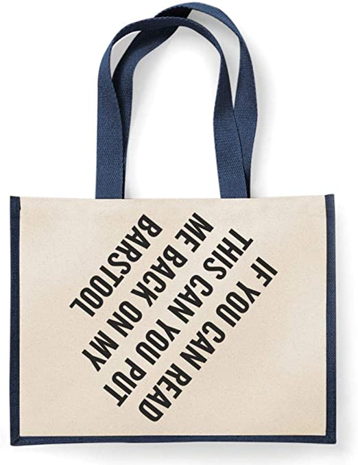 I Let The Dogs Out Present Funny Tote Bag For Life Shopper Shopping Reusable
