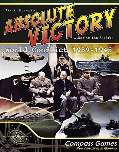 CPS: Absolute Victory, World Conflict 1939-1945, Boardgame [並行輸入品] B07SC64J9B