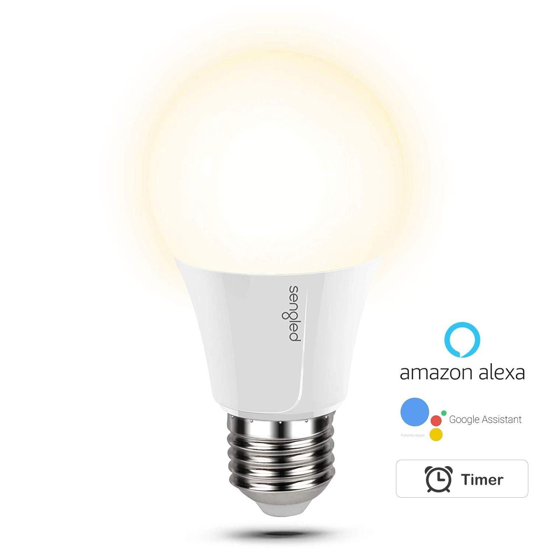 Sengled Smart Wi-Fi LED Lampe, warmweiß , dimmbar, A60, ersetzt 60 w, kein Hub erforderlich, steuerbar via App, funktioniert mit  Alexa und Google Assistant W11-U21W
