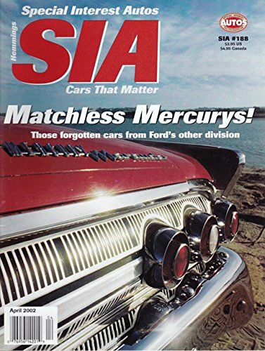 2002 02 March / April Special Interest Autos Magazine, Number # 188 (Drive Reports: 1964 Dodge Dart / 1942 Packard Darrin / 1960 Renault 4CV / Comparison Report 1950 Oldsmobile - Oldsmobile Convertible 1964